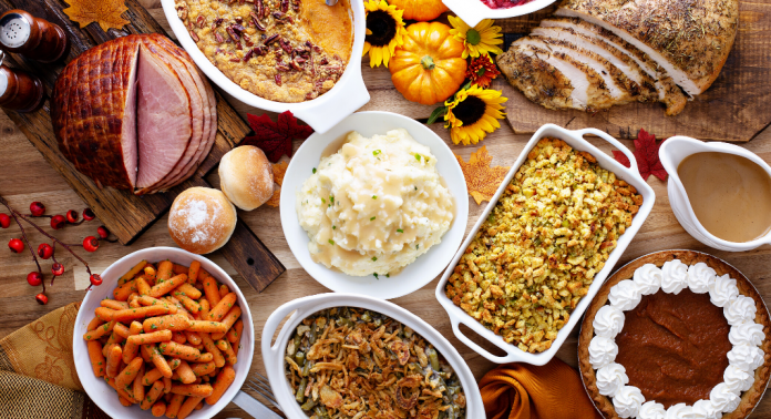 thanksgiving dinner foods