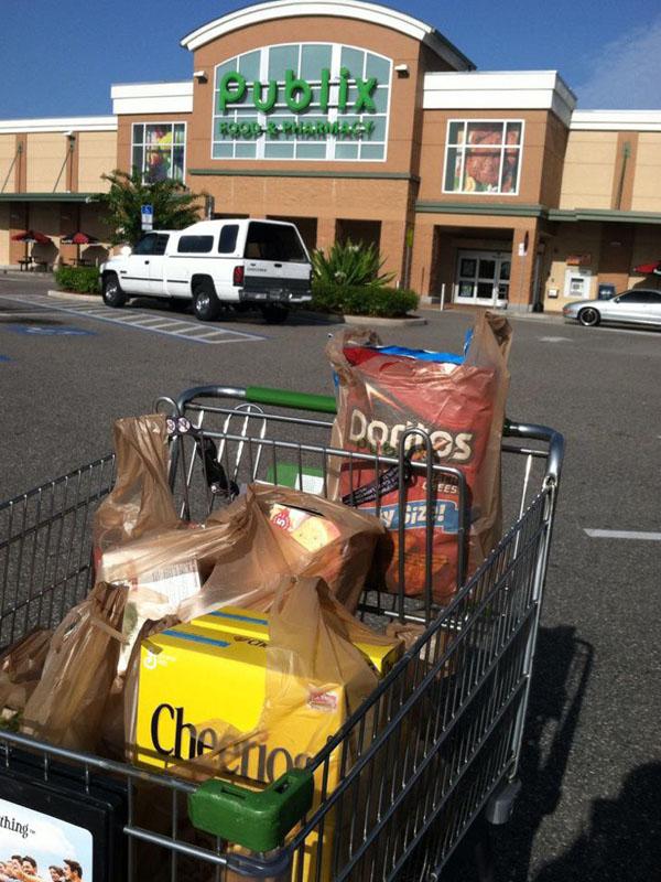 Racking up the savings on groceries
