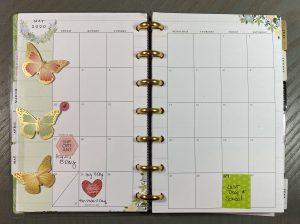 May Month Calendar