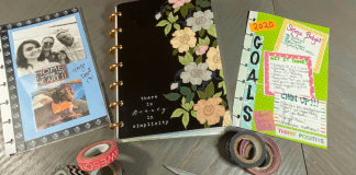 Personalizing your 2020 Planner