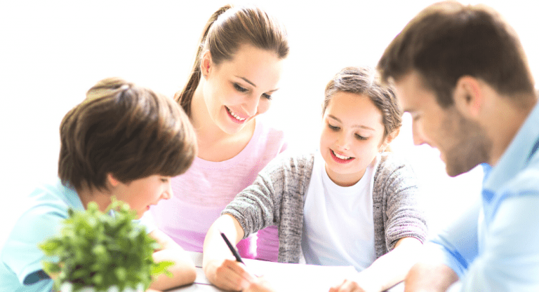 How To Talk To Your Child About Creating a Family Routine