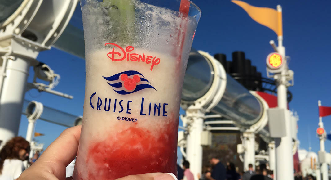 Disney Cruise Line cocktails
