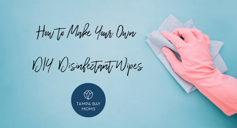 How To Make Your Own DIY Disinfectant Wipes