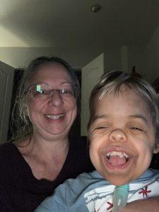 Samuel & Mom