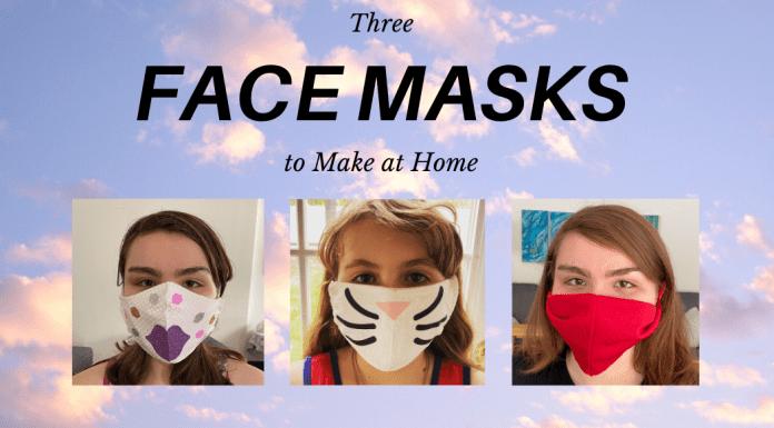 Three Types of Face Masks
