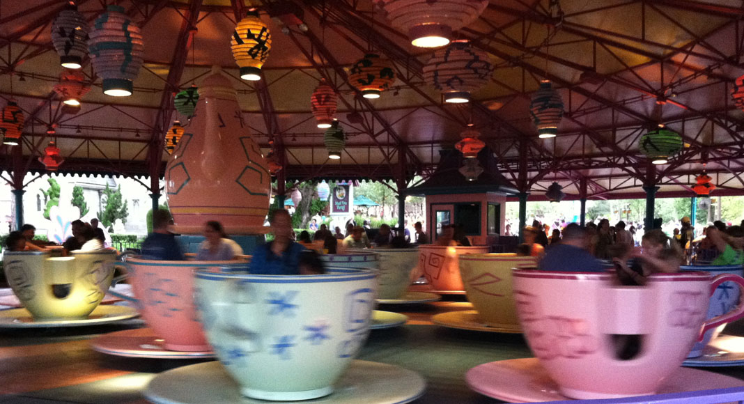 Mad Tea Party at Walt Disney World