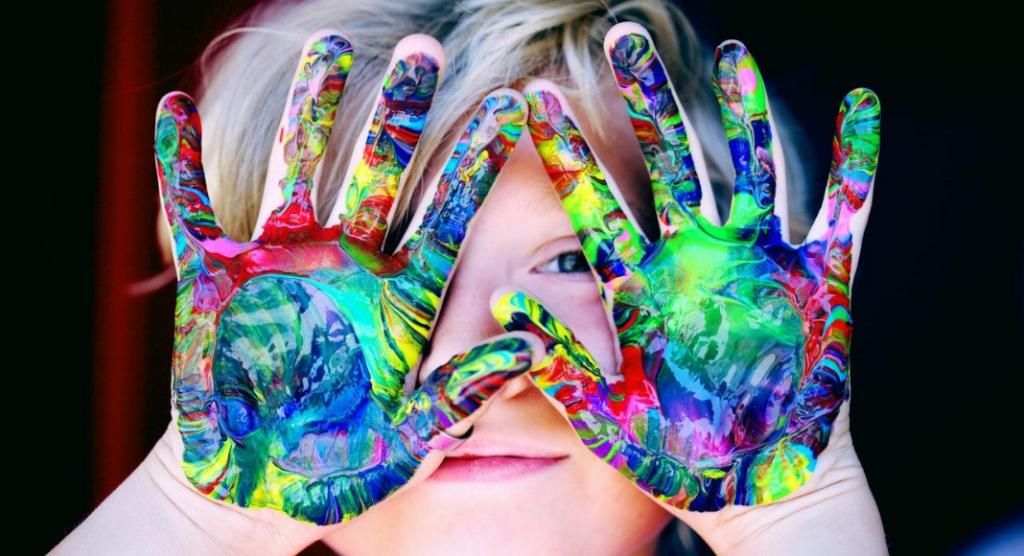 finger painting