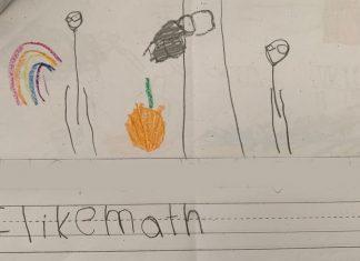 Child's School Paper