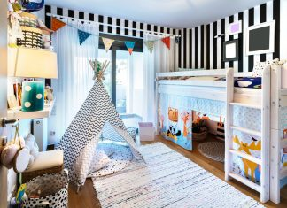 Functional Storage in a Child's Bedroom